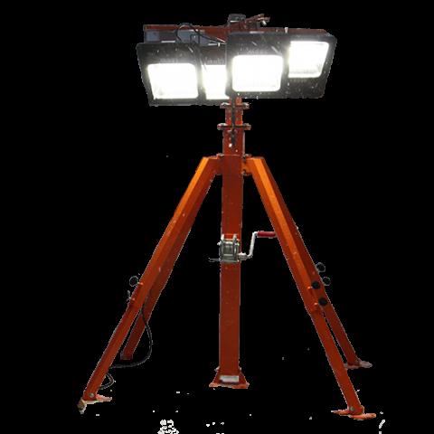 Мобильная осветительная мачта СПС-Р 7.4 GAL 4х1000