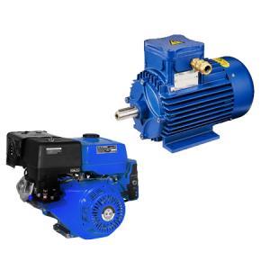 Двигатели электрические и бензиновые